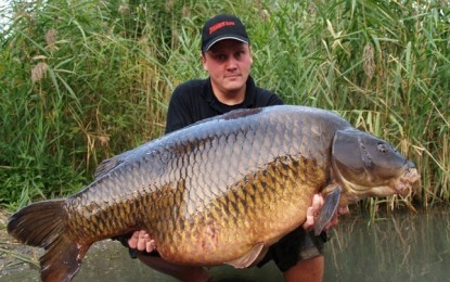 NEW RECORD IN CARP FISHING
